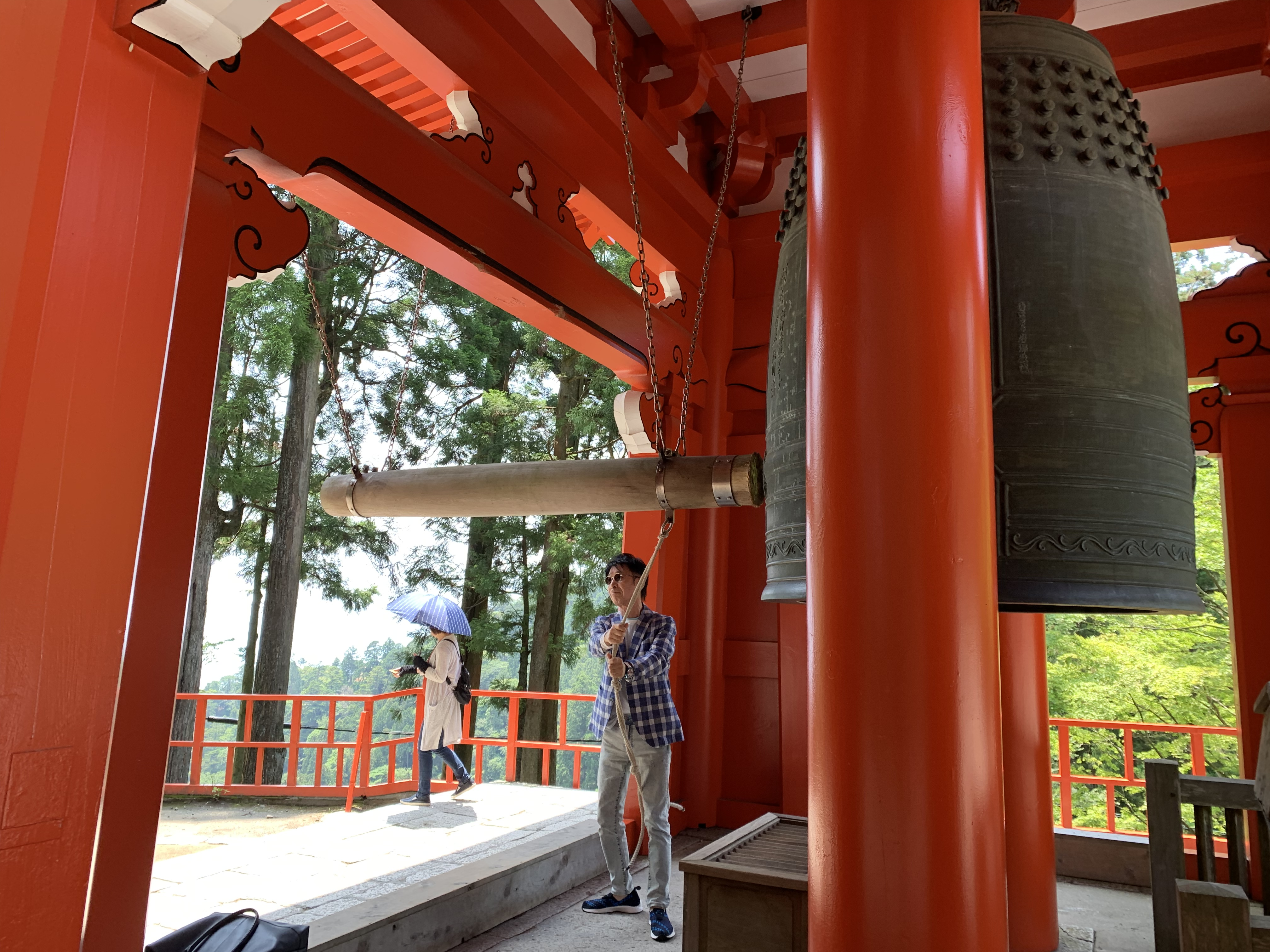 比叡山延暦寺の鐘