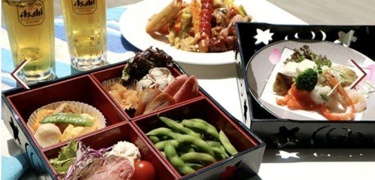 都ホテル京都八条屋上ビアガーデン