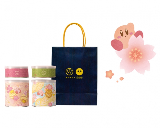 「星のカービィ」× 京都「鶴屋吉信」コラボ和菓子