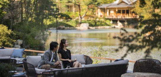 フォーシーズンズホテル京都「シャンパンガーデン」