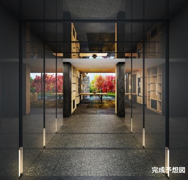 京都悠洛ホテル⼆条城別邸Mギャラリー