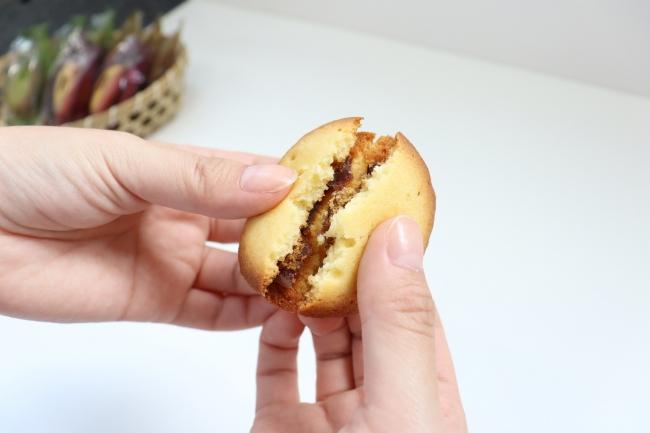 【鼓月】「ラングドシャクッキー×どらやきの新スイーツ」