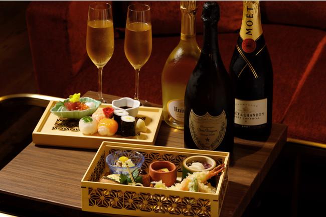 【ウェスティン都ホテル京都】シャンパンフリーフロー
