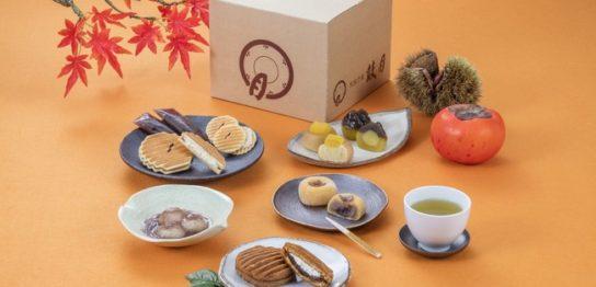 鼓月「秋の実り和菓子セット」